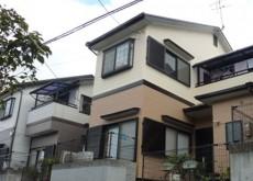 屋根・外壁塗装工事(ガイナ、ハイドロテクトECO-EX) 枚方市K様邸