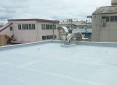 工業団地 屋根防水工事