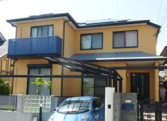 屋根・外壁塗装工事(ガイナ) 神戸市西区T様邸